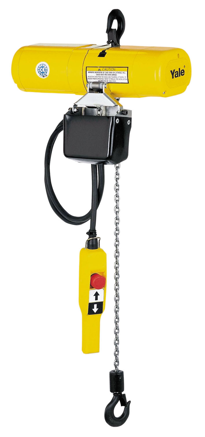 Yale Electric Chain Hoists Sutch Lifting Equipment Ltd